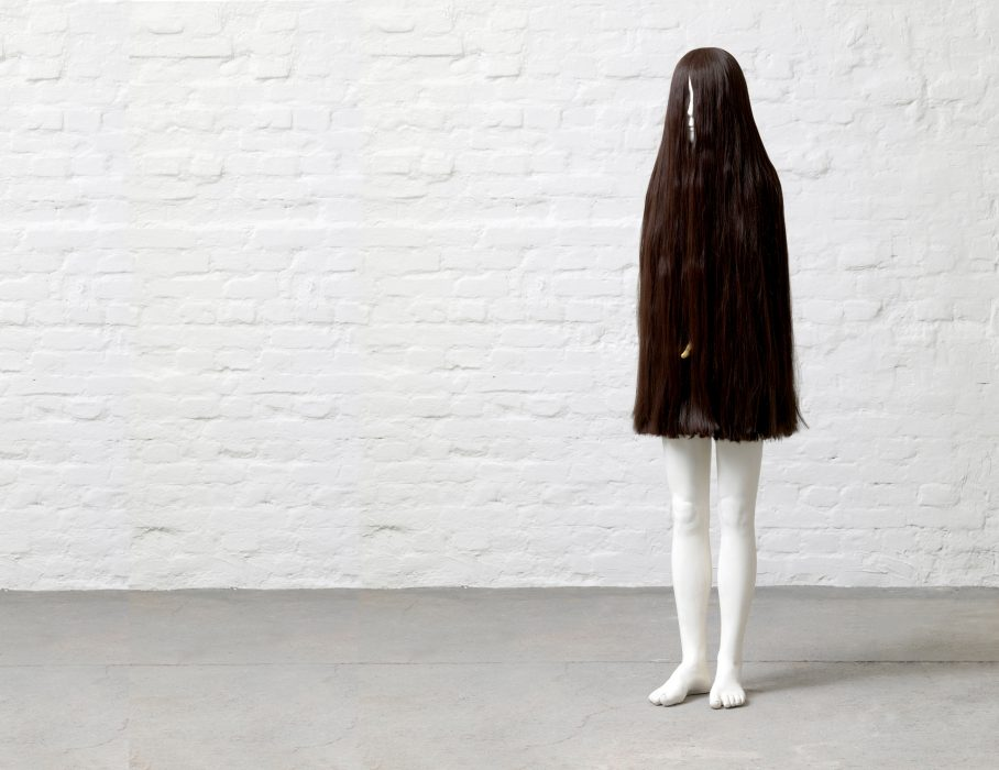 Mariana Vassileva / 2007 / Joey / Gypsum / artificial hair / mixed media / 165cm