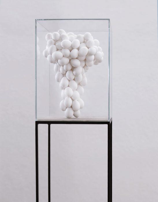 Mariana Vassileva / 2015 /The Origin of Ending / eggs / 45x30cm